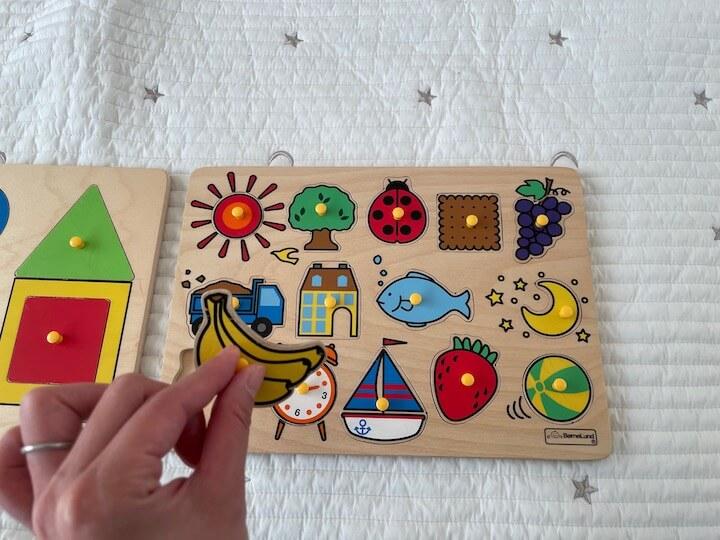 バナナのパズル